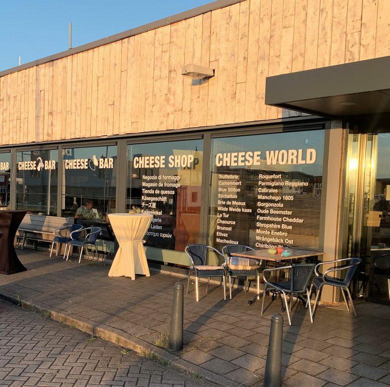 Menukaart Cheesebar IJmuiden